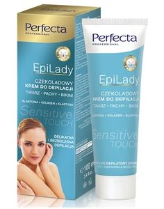 DAX Perfecta EpiLady, Czekoladowy krem do depilacji pach i bikini - SENSITIVE, 100 ml