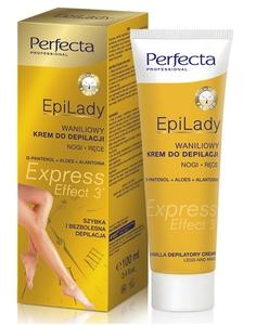 DAX Perfecta EpiLady, Waniliowy krem do błyskawicznej depilacji - EXPRESS, 100 ml
