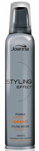 JOANNA Styling Effect, Bardzo Mocna pianka modelująca, 150 ml