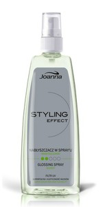 JOANNA Styling Effect, Nabłyszczacz do włosów w sprayu, 150 ml