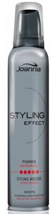 JOANNA Styling Effect, Ekstramocna pianka modelująca, 150 ml