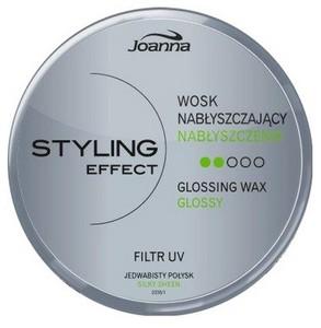 JOANNA Styling Effect, Wosk nabłyszczający modelujący loki, fale, pazurki 45 g