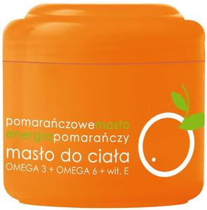 ZIAJA Masło Pomarańczowe, Masło do ciała z kwasami Omega3, 200 ml