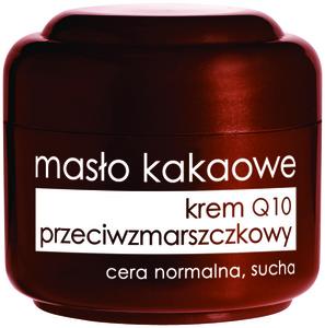 ZIAJA Masło Kakaowe, Przeciwzmarszczkowy krem do twarzy z Q10,  50 m