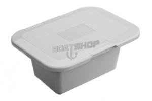 Pojemnik Na Prysznic z Drzwiczkami 247x186 Biały