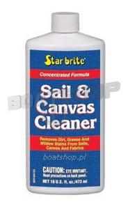 Środek do czyszczenia żagli  i brezentów. Sail&Canvas Cleaner 473 ml.
