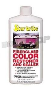 Środek regenerujący kolor włókna szklanego. Fiber glass Colour Restorer 473 ml.