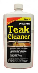 Krok 1 - Środek do czyszczenia teaku. TEAK CLEANER 1L