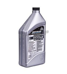 Olej Quicksilver 2-Cycle Premium PLUS TC-W3 - 1L