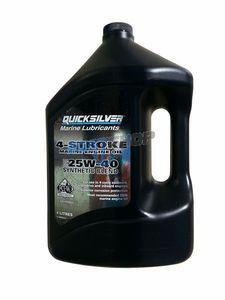 Olej Syntetyczny Quicksilver 4-STROKE 25W-40 Do Silników Stacjonarnych 4 litry