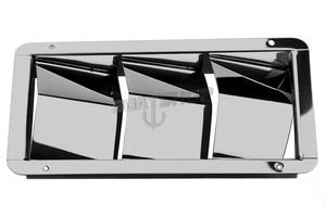 Kratka wentylacyjna nierdzewna 325mm X 115mm
