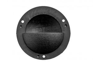 Otwór wentylacyjny PCV okrągły Średnica 85 mm Czarny
