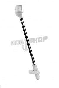 Lampa nawigacyjna topowa na nodze  z gniazdem wyjmowana 105 cm