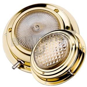 """Lampa kabinowa BRASS mosiądz. ŚREDNICA 110 mm / 3"""""""
