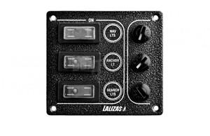Panel elektryczny SP ULTRA wodoodporny 3 włącznikowy .