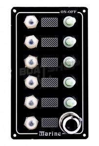 Panel elektryczny 12V wodoodporny 90 mm x 157 mm