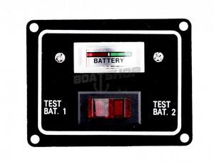 Tester akumulatora na 2 akumulatory