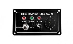 Panel pompy zęzowej z alarmem Auto-Off-Manual