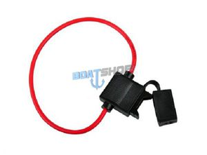 Obudowa bezpiecznika płaskiego Standard 19 mm