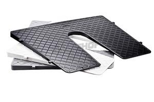 Ochraniacz Pawęży Zewnętrzny Portki Klin 450x360 Czarny