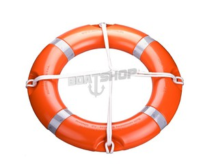 Koło ratunkowe SOLAS MED na morze ATEST PRS z zasobnikiem