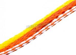 Lina polietylenowa Fi 6mm Pomarańczowy