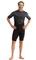 Pianka Jobe Perth 3/2mm Shorty Wetsuit Men Graphite Grey S