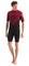 Pianka Jobe Perth 3/2mm Shorty Wetsuit Men Red L