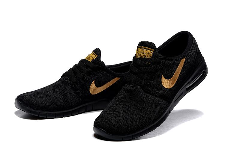 90ebc058152044 Buty Męskie Nike Sb Stefan Janoski Black And Gold, NIKE BLACK and ...