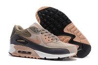 Buty damskie Nike Air Max 90 BRĄZOWE jesienno - zimowe 768887-201