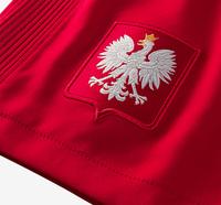 Spodenki piłkarskie POLSKA NIKE 16/17 Stadium czerwone