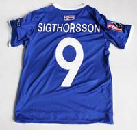 Dziecięcy zestaw piłkarski ISLANDIA Home 16/17 ERREA (koszulka+spodenki) #9 SIGTHORSSON