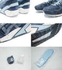 ASICS Gel-Sight Navy-Dark Blue Kith Ronnie Feig H50CK-5042