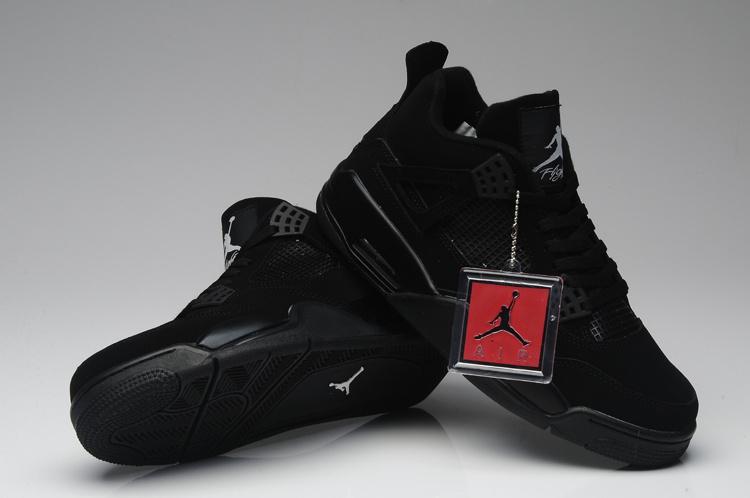 "5b66f2248c86 Buty Męskie Nike Air Jordan Retro 4 ""Black Cat"" 308497-002"