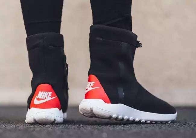 świeże style sprzedaż online przedstawianie Zimowe buty damskie NIKE Wmns Tech Fleece Mid 789837-016