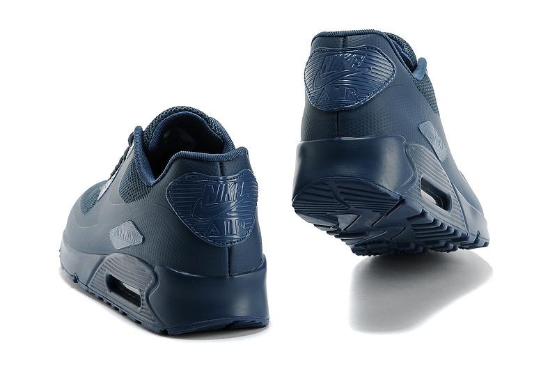 0838fb1a Buty Męskie Nike Air Max 90 Hyperfuse Usa Granatowe 613841-440, NIKE ...
