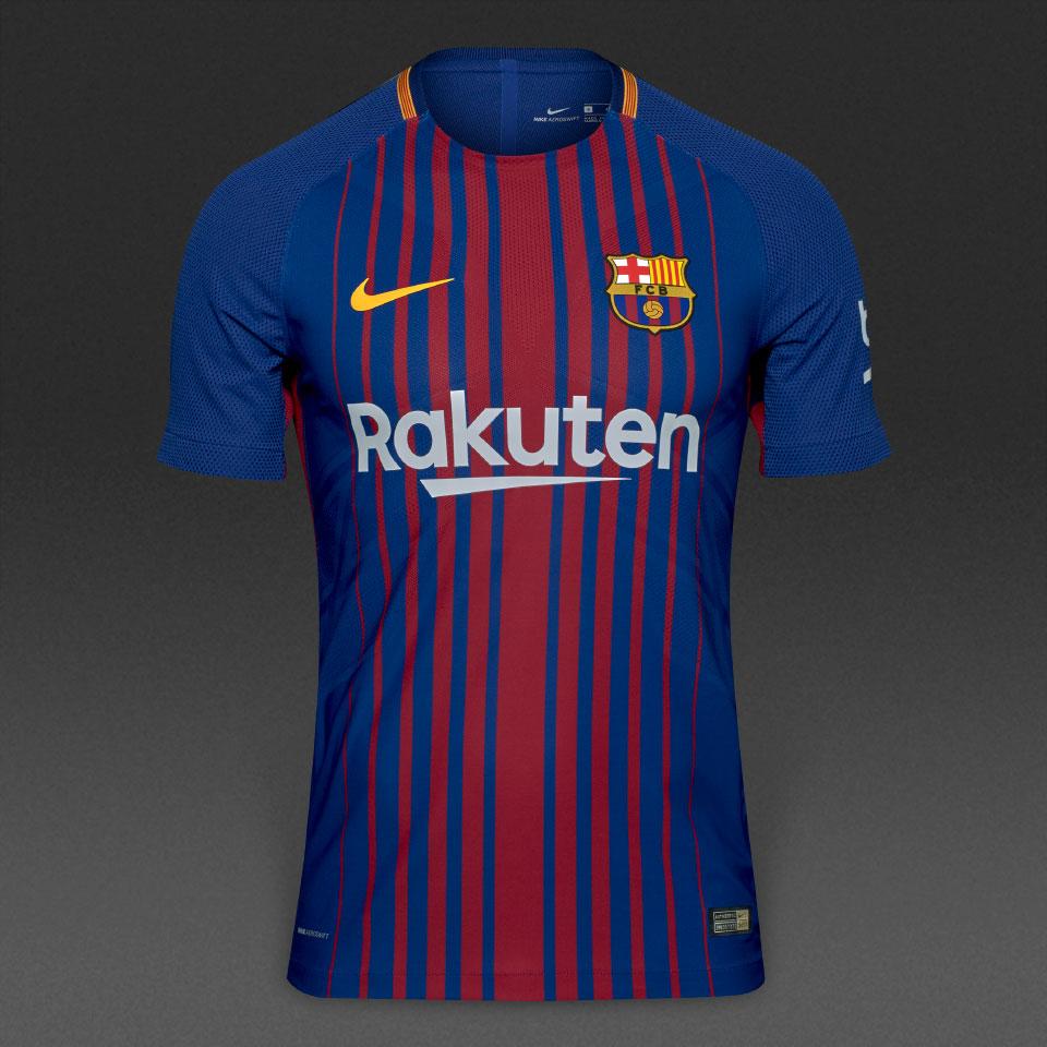 4859db427 Koszulka piłkarska FC BARCELONA NIKE 17/18 Vapor Match Home, #10 MESSI