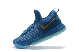 Nike Zoom KD9 USA Kevin Durant blue-gold