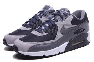 Buty męskie Nike Air Max 90 708973-001 black/grey suede