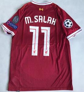 Koszulka piłkarska FC LIVERPOOL home 17/18 NEW BALANCE #11 M.SALAH
