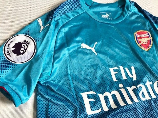 a021a3215 Koszulka Piłkarska Arsenal Londyn Away 17/18 Puma #7 Alexis, Liga ...