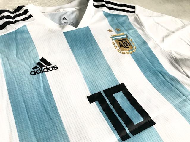 1bb09bc7a ... Koszulka piłkarska ARGENTYNA 2018 Authentic ADIDAS #10 MESSI ...