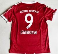 Dziecięcy zestaw piłkarski BAYERN MONACHIUM home 17/18 ADIDAS #9 LEWANDOWSKI