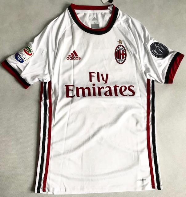 3d590827a Koszulka Piłkarska Ac Milan Authentic Away 17/18 Adizero Adidas ...