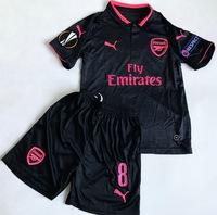 Dziecięcy zestaw piłkarski ARSENAL LONDYN PUMA away 17/18 (koszulka+spodenki+getry) #8 OZIL
