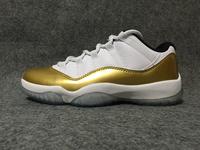 Buty męskie NIKE AIR JORDAN 11 Low Metallic Gold 528895-103