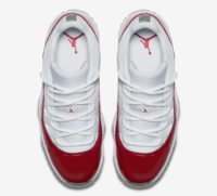 Buty męskie NIKE AIR JORDAN 11 LOW VARSITY RED 528895-102
