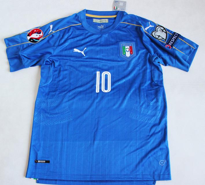 36cb4f5a5 Koszulka piłkarska WŁOCHY Home 16/17 Authentic ITALY PUMA #10 Veratti