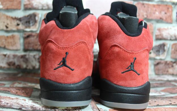 7e26fd2637579 Nike Air Jordan Retro 5 Raging Bull Red Suede 136027-601, NIKE AIR ...