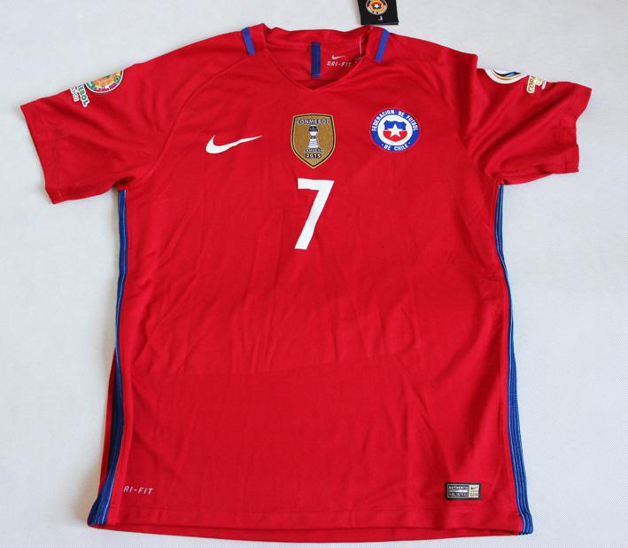 687fa1560 Koszulka Reprezentacji Chile Vapor Match Home 16/17, #7 Alexis ...